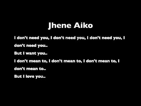 Don't Need You (From Jhene Aiko's