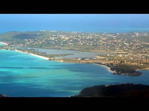 Visit St-John, Antigua. Walk with me in the city  HD