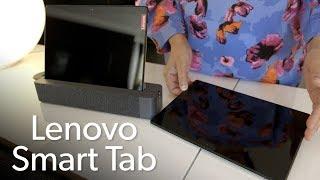 Lenovo Smart Tab P10 & M10 first look
