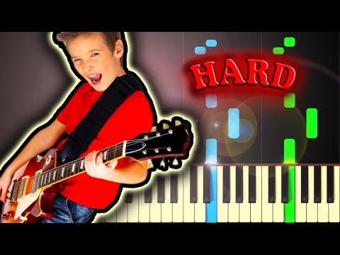 I LOVE ROCK N' ROLL - Piano Tutorial