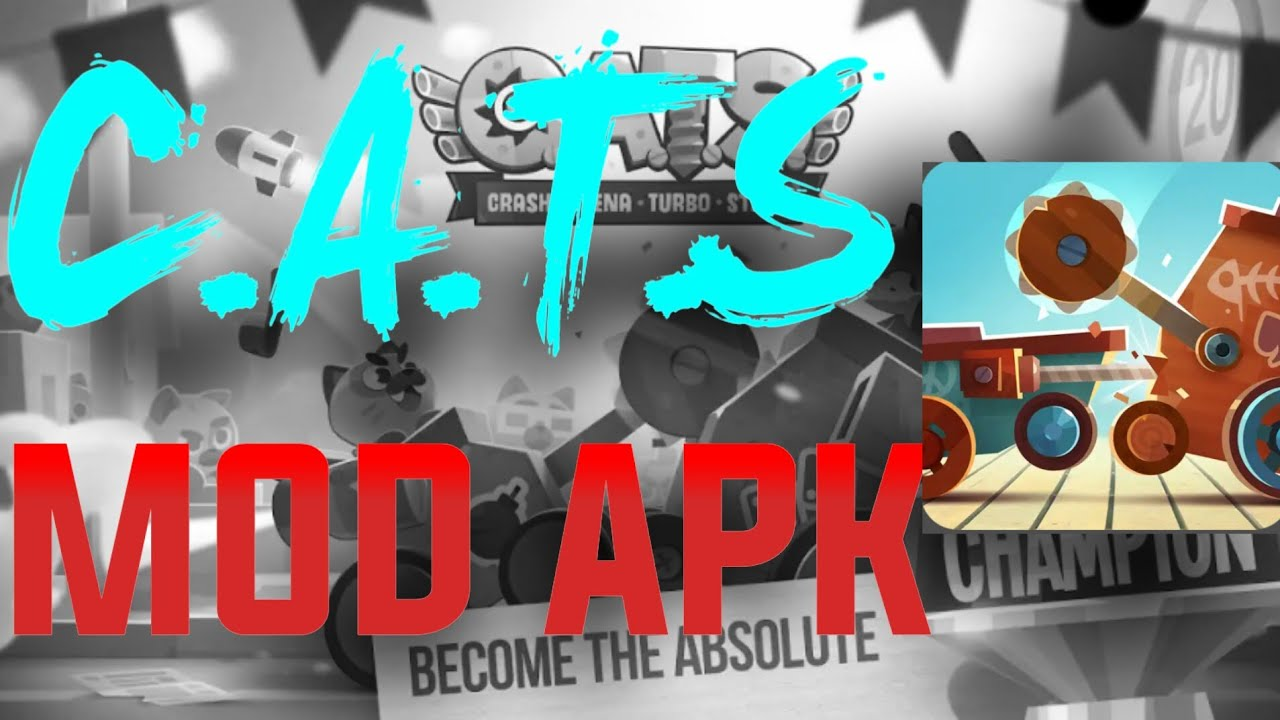 C.A.T.S MOD APK 2.11.1 HACK CHEATS DOWNLOAD ANDROID NO ROOT - CRASH ARENA TURBO STARS GAMEPLAY