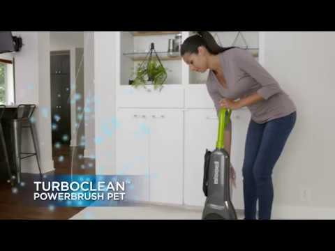 How to use the TurboClean PowerBrush Pet | BISSELL