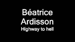 Béatrice Ardisson - Highway to hell.wmv