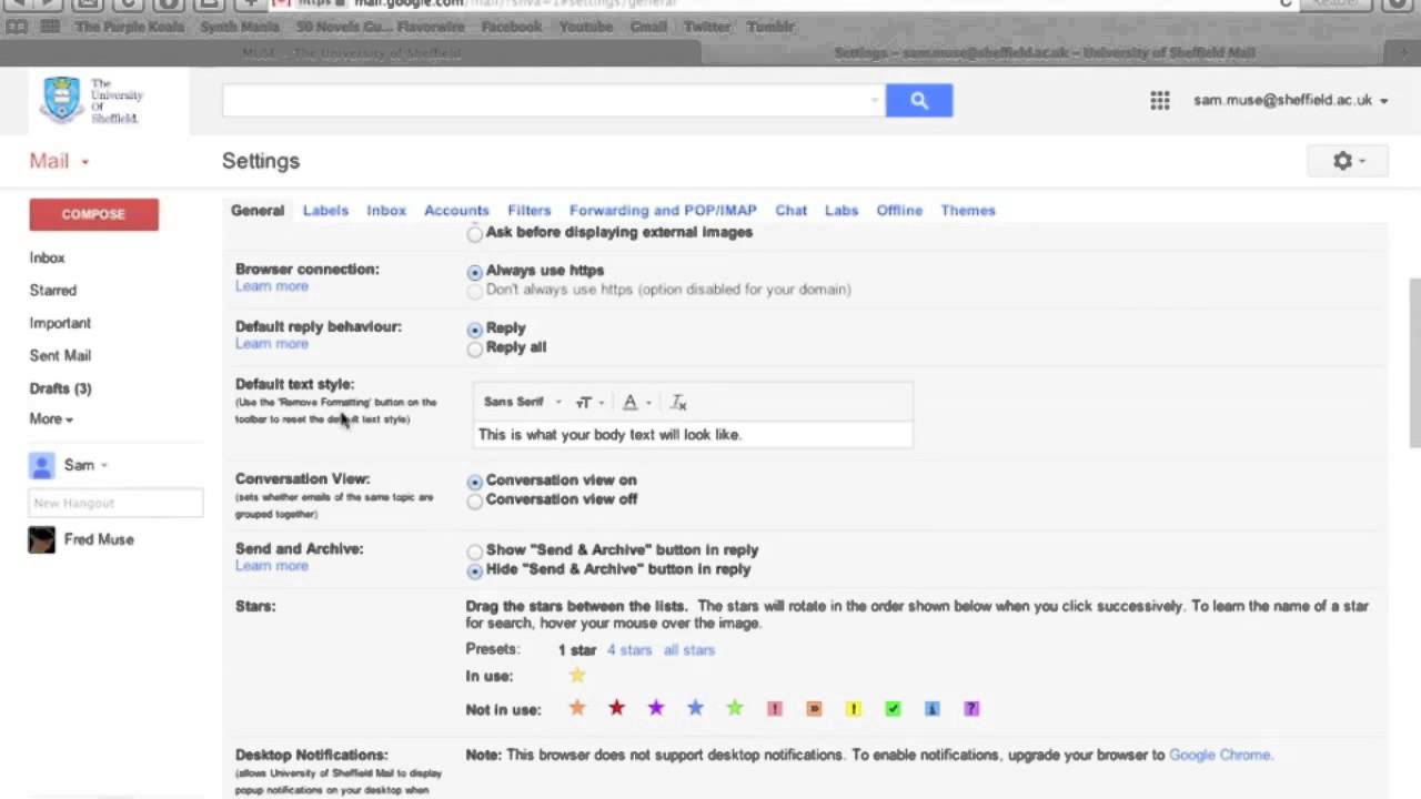 Gmail theme disabled - Making The Most Of Gmail Conversation View