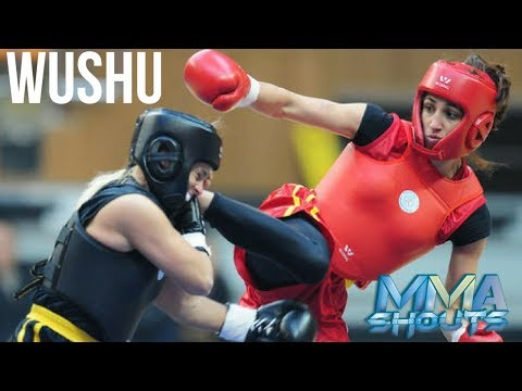 AMAZING Wushu Womens Fight! | Martial Arts | MMA Shouts