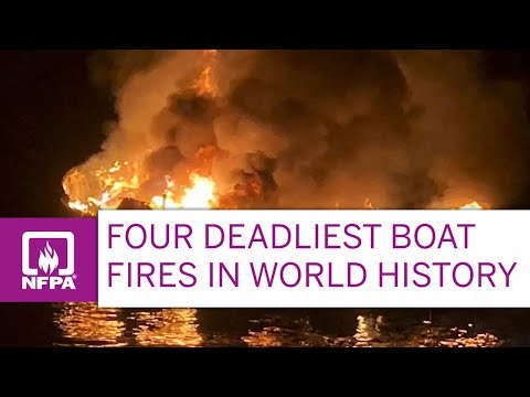 Four Deadliest Boat Fires in World History