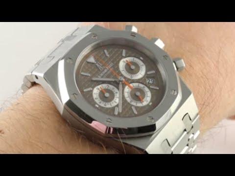 Audemars Piguet Royal Oak Chronograph 26300ST.OO.07 Luxury Watch Review