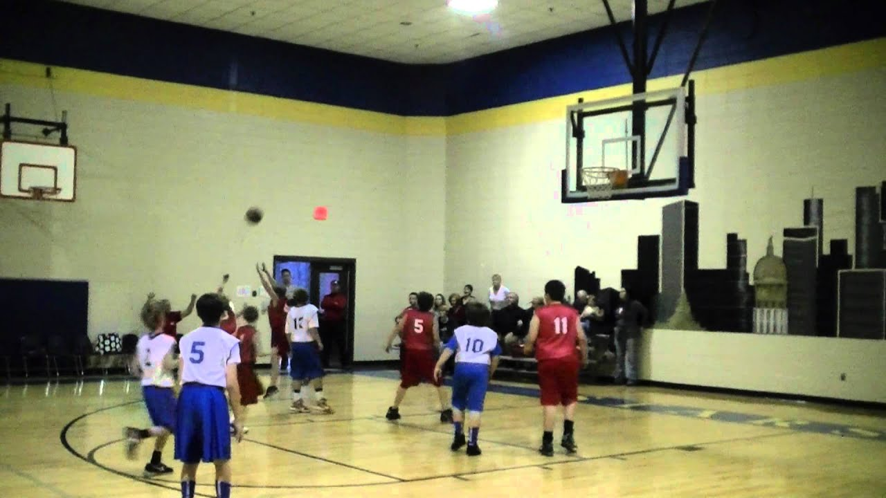Game 3: Sixes 5th Grade Boys Win 42-17 vs Ball Ground January 7, 2012