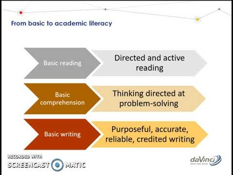 Academic Literacy Section 1