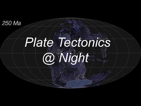 PlateTectonics@Night