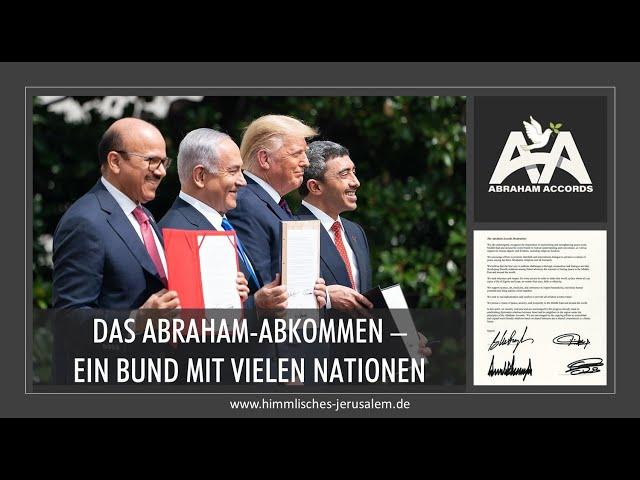 Das Abraham-Abkommen von Trump - ein Bund mit vielen Nationen