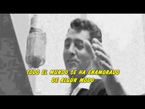 Dean Martin - Everybody Loves Somebody Subtitulada en español
