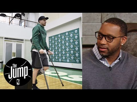 Tracy McGrady relates to Gordon Hayward recovering from long-term injury | The Jump | ESPN