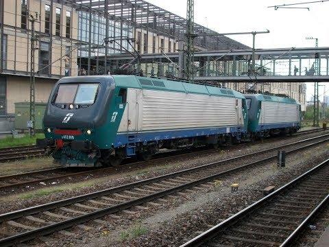FS 412 010 (E-Lok der Ferrovie dello Stato Italiane) - Regensburg