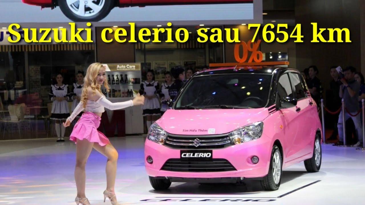 Đánh giá Suzuki celerio sau 7654 km/ xe nhập Thái ngon bổ rẻ
