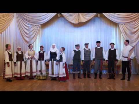 """Folk group """"Raskila"""" (Lithuania, Panevezys)."""