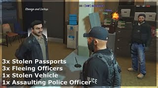 I Knocked This Kid Cop Out.. He Called Backup (GTA RP)