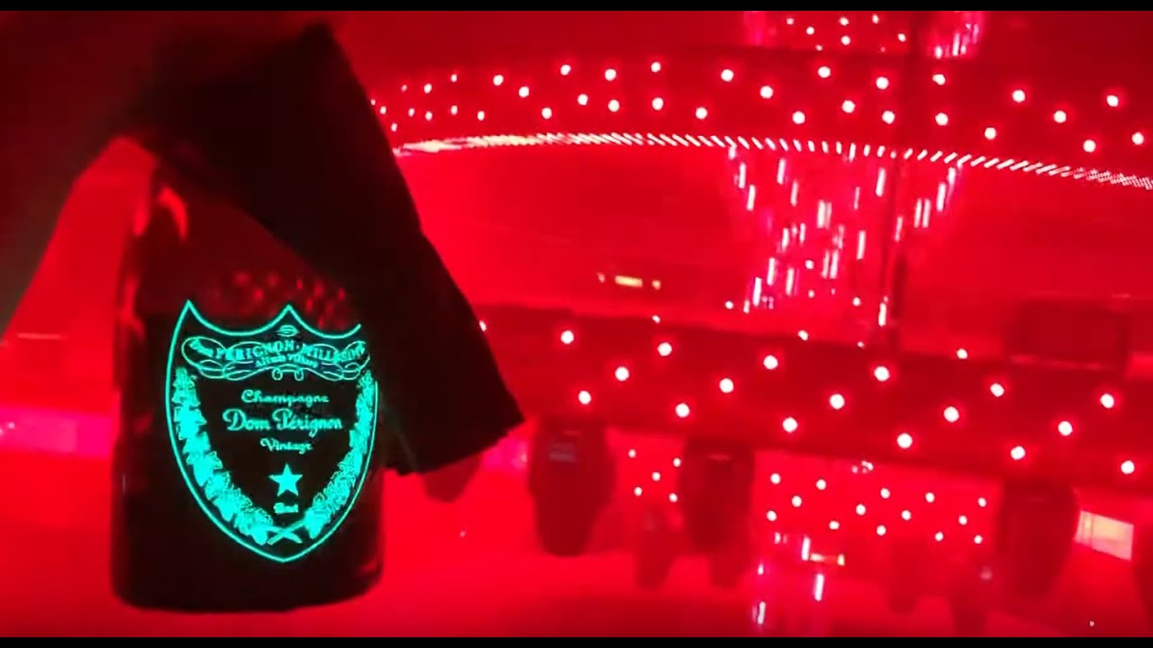 Tiesto at Omnia Nightclub Caesar's Palace - Opening Chandelier Presentation