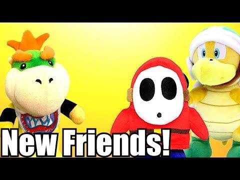 Bowser Jr's New Friends! | Super Mario Plush! |
