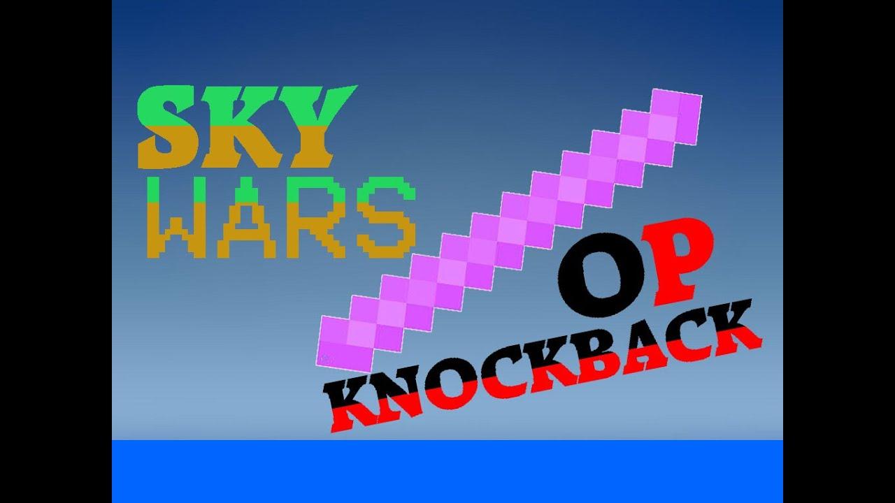 minecraft how to get knockback 10 stick