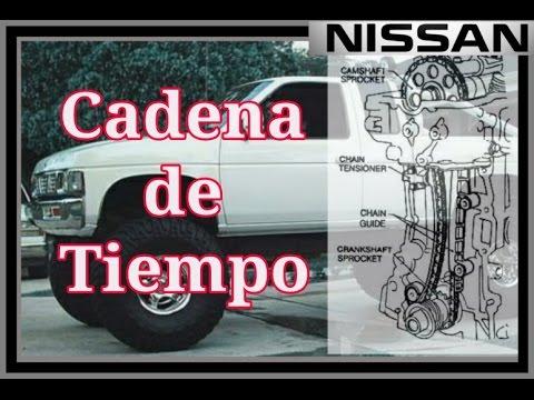 Cadena de Tiempo, Nissan Pick up 2.4, KA24E