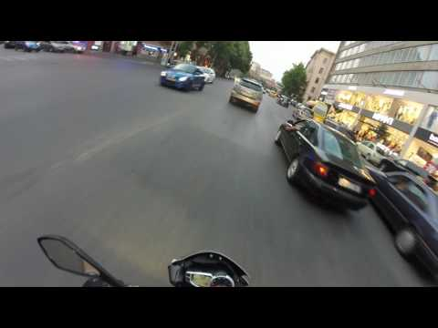 UxEsh riding  in Tbilisi Streets