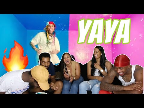 6IX9INE- YAYA (Official Music Video) REACTION / REVIEW