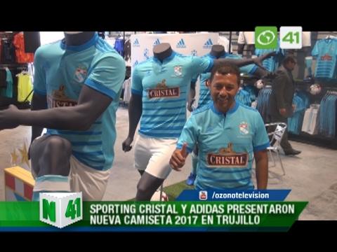 Sporting Cristal y Adidas presentaron nueva camiseta 2017 en Trujillo