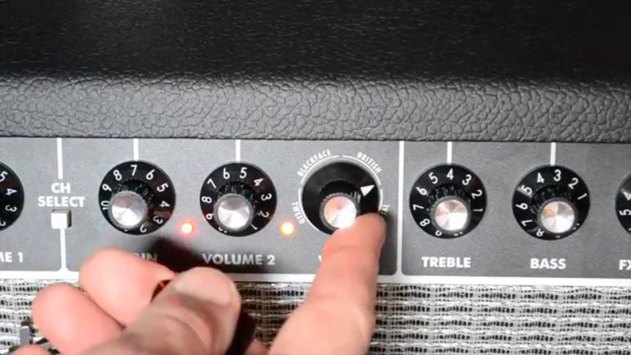 Review fender champion 40 channel 1 and 2