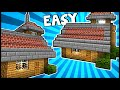 stylish house with lookout minecraft tutorial video download