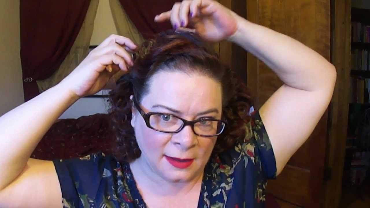 Queen Elizabeth Ii Circa 1950s Inspired Hair Tutorial Youtube