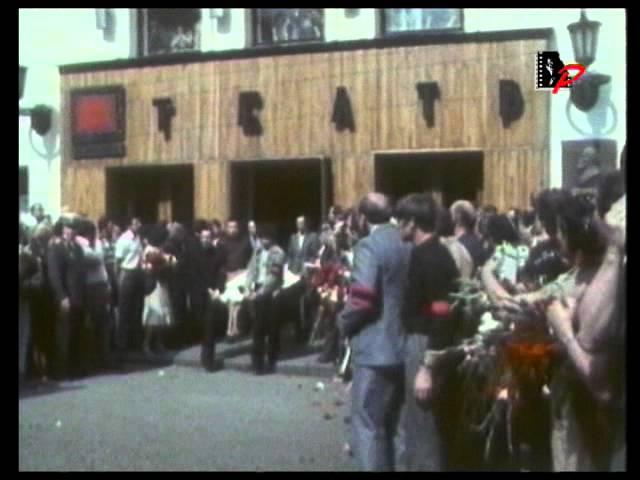 Прощание с Владимиром Высоцким на Таганской площади