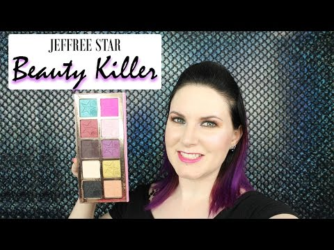Jeffree Star Beauty Killer Palette Review, Live Swatches, Vegan & Cruelty Free | Phyrra