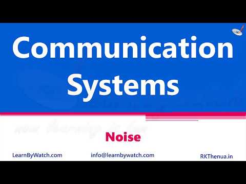 Noises | Hindi/ Urdu | Communication System By Raj Kumar Thenua