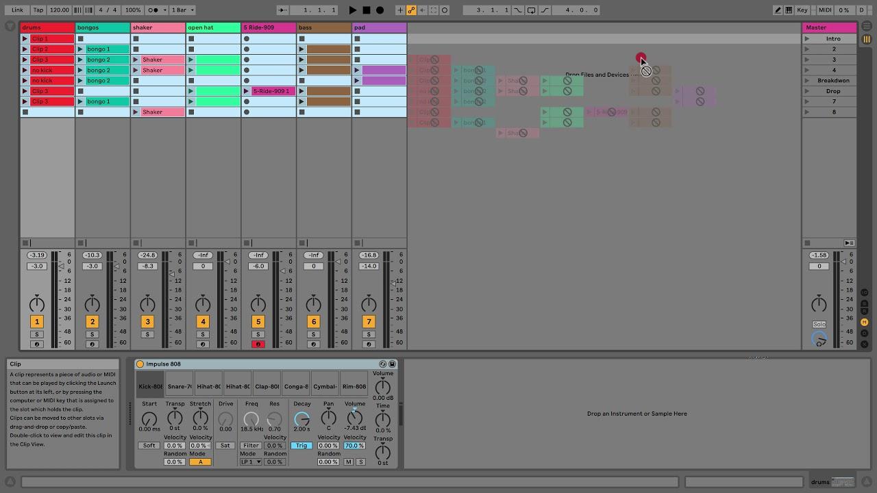 Ableton 10 live lite tutorial