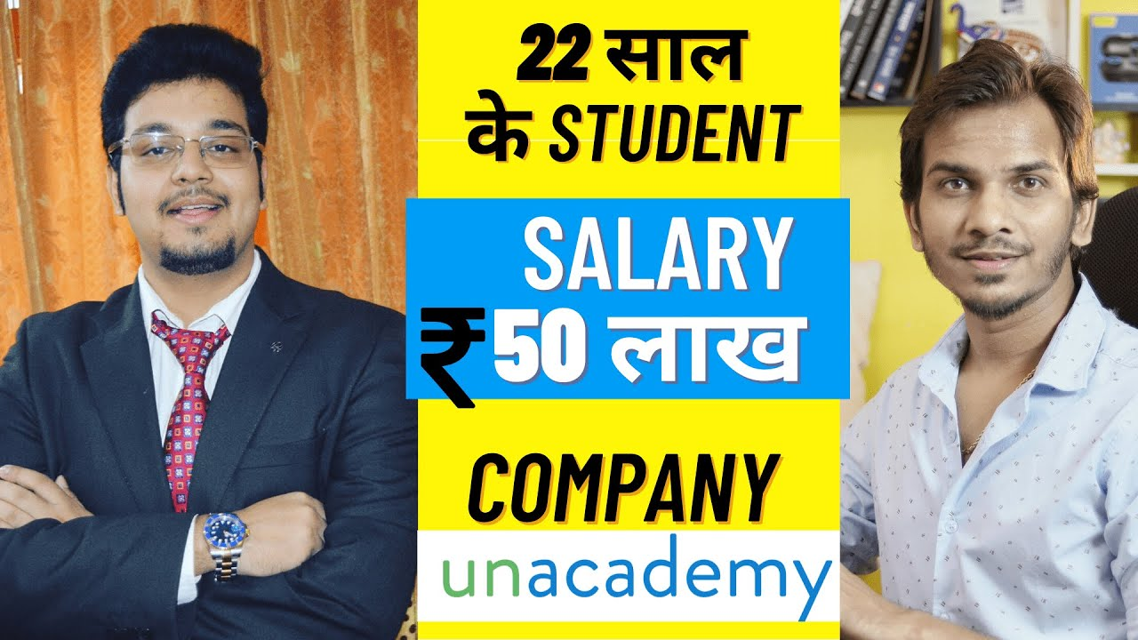 How a 22-Year-Old Student Received a 50 Lakh Package from Unacademy? | Sachin Rana (IITB) Interview
