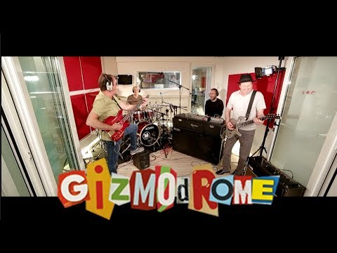 About Gizmodrome - Debut album out September 15, 2017