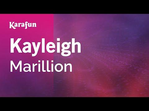 Karaoke Kayleigh - Marillion *