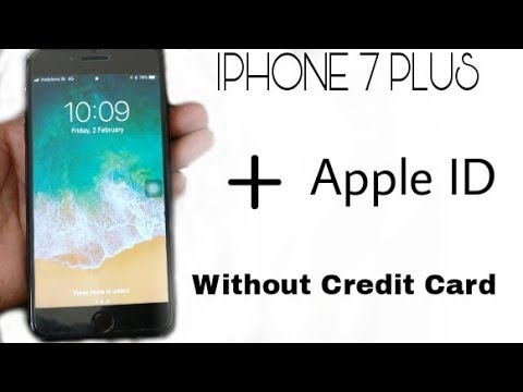 How to create a new apple id without password iphone 7 plus