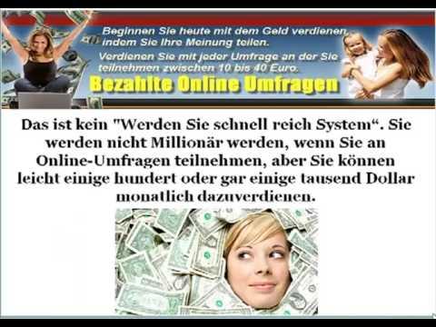 Umfrage Geld