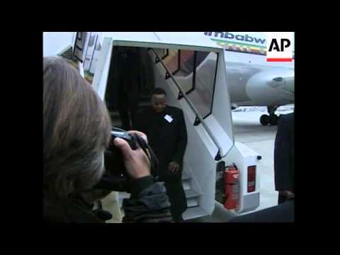 Zimbabwean president arrives Geneva