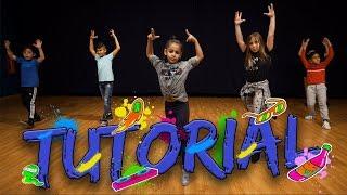 Nicky Jam & Steve Aoki - Jaleo (Dance Tutorial) | Easy Kids Choreography | MihranTV Video