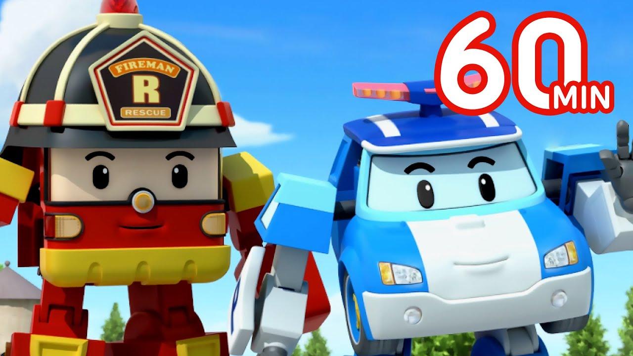 Download Robocar POLI 1 Hour Clip | Rescue the Cat! | Cartoon for Kids | Robocar POLI TV