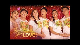 "ABS-CBN Christmas Station ID 2015 ""Thank You For The Love"" Recording Music Video thumbnail"