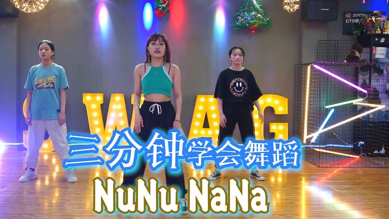 三分钟轻松学会JESSI韩舞NUNUNANA舞蹈教学 dance tutorial