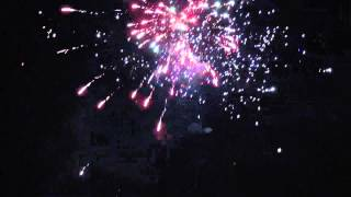Happy New Year everyone!  (Mein Feuerwerk 2013)