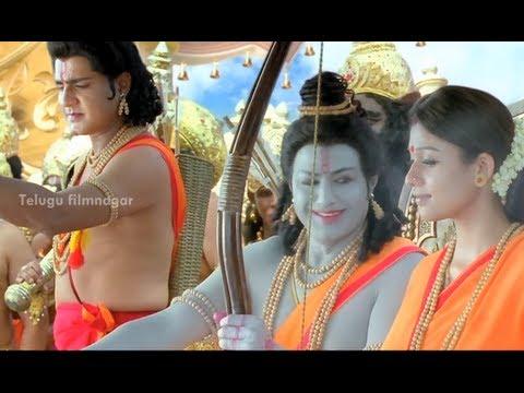 sri rama rajyam movie