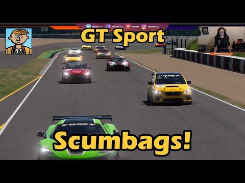 Scumbags Everywhere! - Gran Turismo Sport Live #3