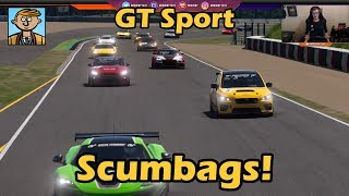 Scumbags Everywhere! - Gran Turismo Sport Live #3