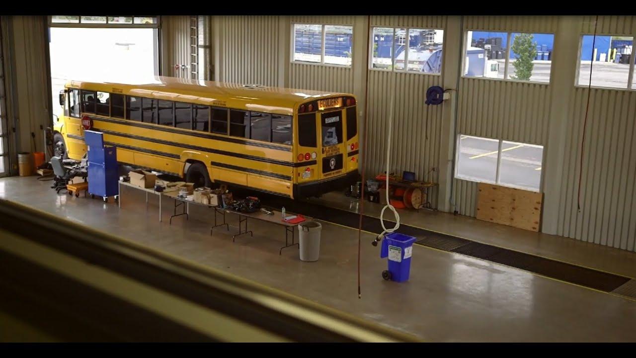100% Electric School Bus